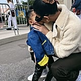 Kylie Jenner and Stormi Webster at Walt Disney World