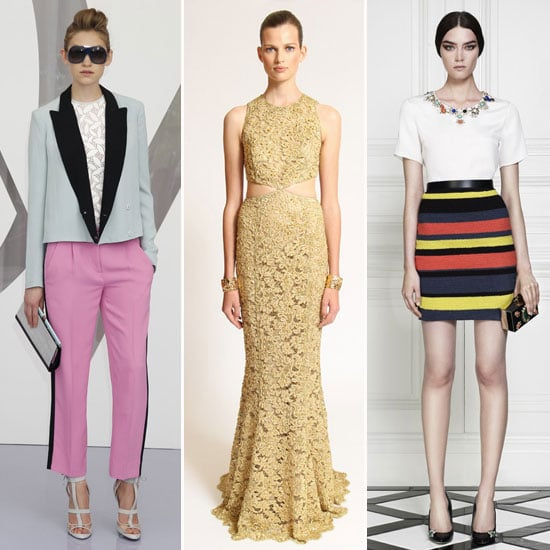 Top 13 Trends from the 2013 Resort Collections: Peplums, Leather, Graphic Prints, Collars, Lace and much more