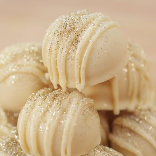 Riondo White Chocolate Prosecco Truffles