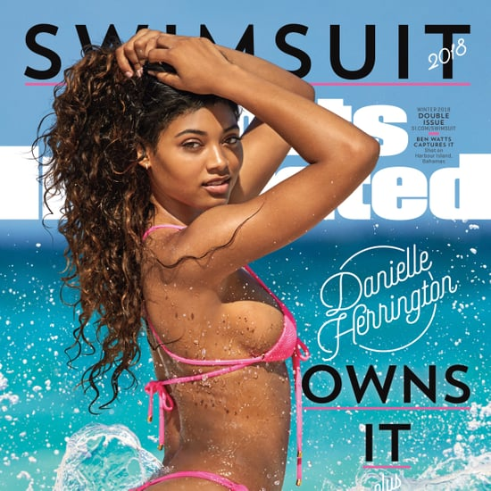 Danielle Herrington Pink Bikini on Sports Illustrated Cover
