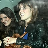 Princess Eugenie's Red Nails