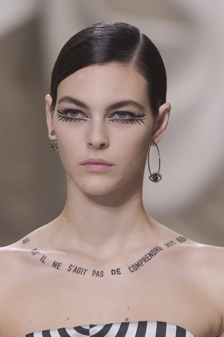 Tattoos on Models at the Dior Spring Summer 2018 Haute ...