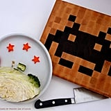 Space Invaders Cutting Board ($110)