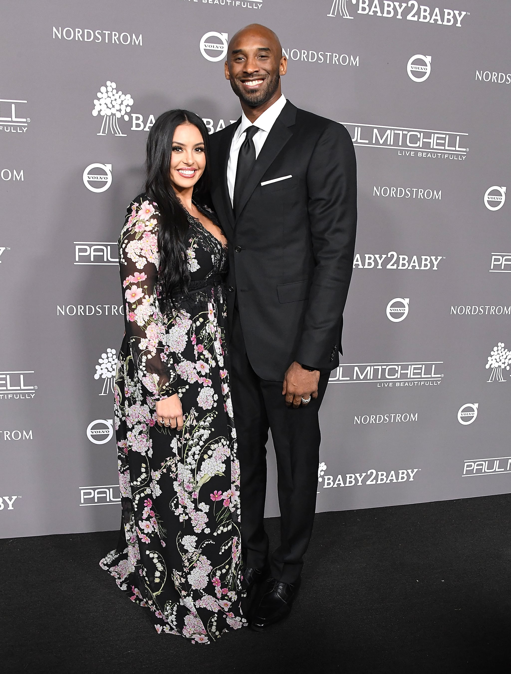 CULVER CITY, CA - NOVEMBER 10:  Kobe Bryant, Vanessa Laine Bryant arrives at the The 2018 Baby2Baby Gala Presented By Paul Mitchell Event  at 3LABS on November 10, 2018 in Culver City, California.  (Photo by Steve Granitz/WireImage)