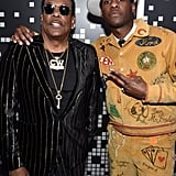 Pictured: Charlie Wilson and Leon Bridges