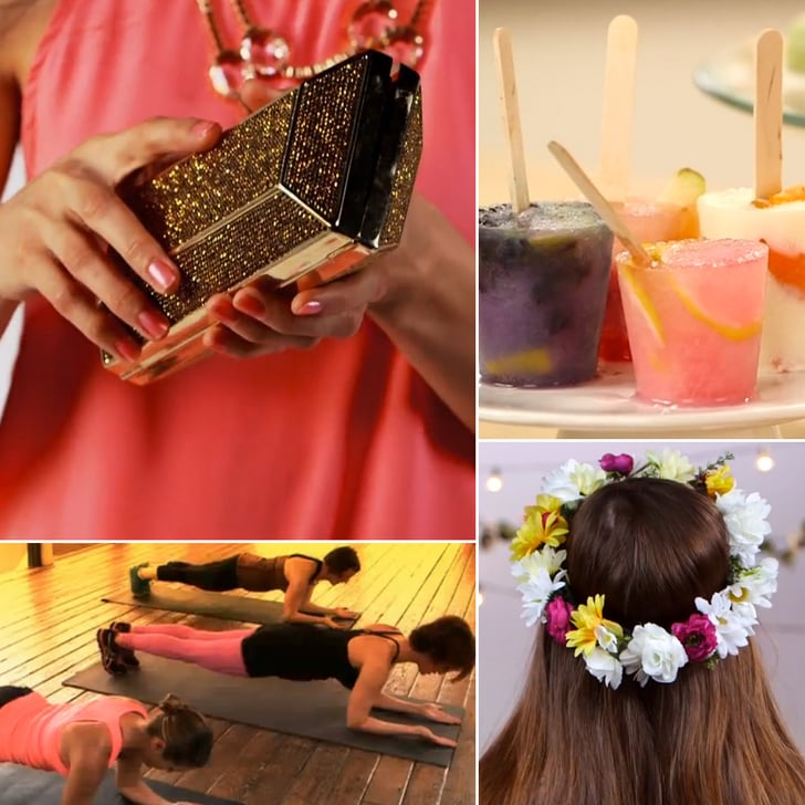 An Ab-Blast Workout, Homemade Popsicles, and a DIY Floral Crown: The Best of POPSUGAR TV This Week