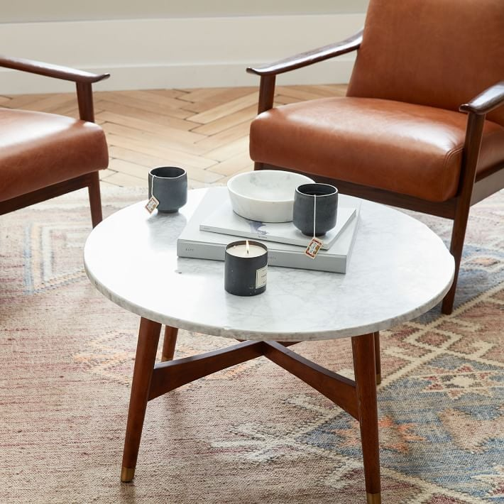 Marble Reeve Mid Century Coffee Table The Best Small Space
