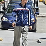 Matthew McConaughey went to the gym.