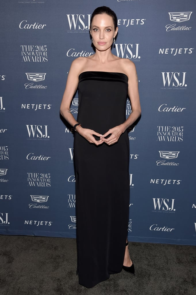Wearing Tom Ford at the WSJ Magazine 2015 Innovator Awards.
