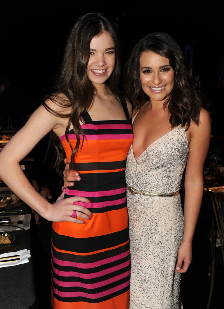 She shared a sweet photo with Hailee Steinfeld during the 2011 SAG Awards in LA.