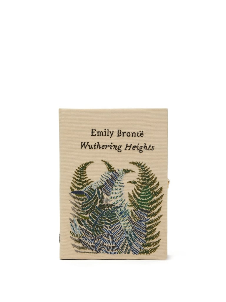 Olympia Le Tan Wuthering Heights Embroidered Book Clutch