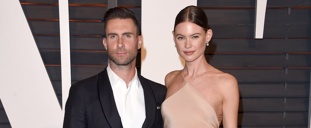 Adam Levine and Behati Prinsloo Style