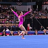 Katelyn at the 2013 American Cup (Kicking Ass!)