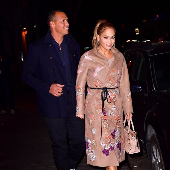 Jennifer Lopez Floral Jacket May 2017