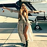 Of Course, Beyoncé's Coachella Look Is Perfectly Breezy