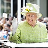 When She Nails the Royal Wave