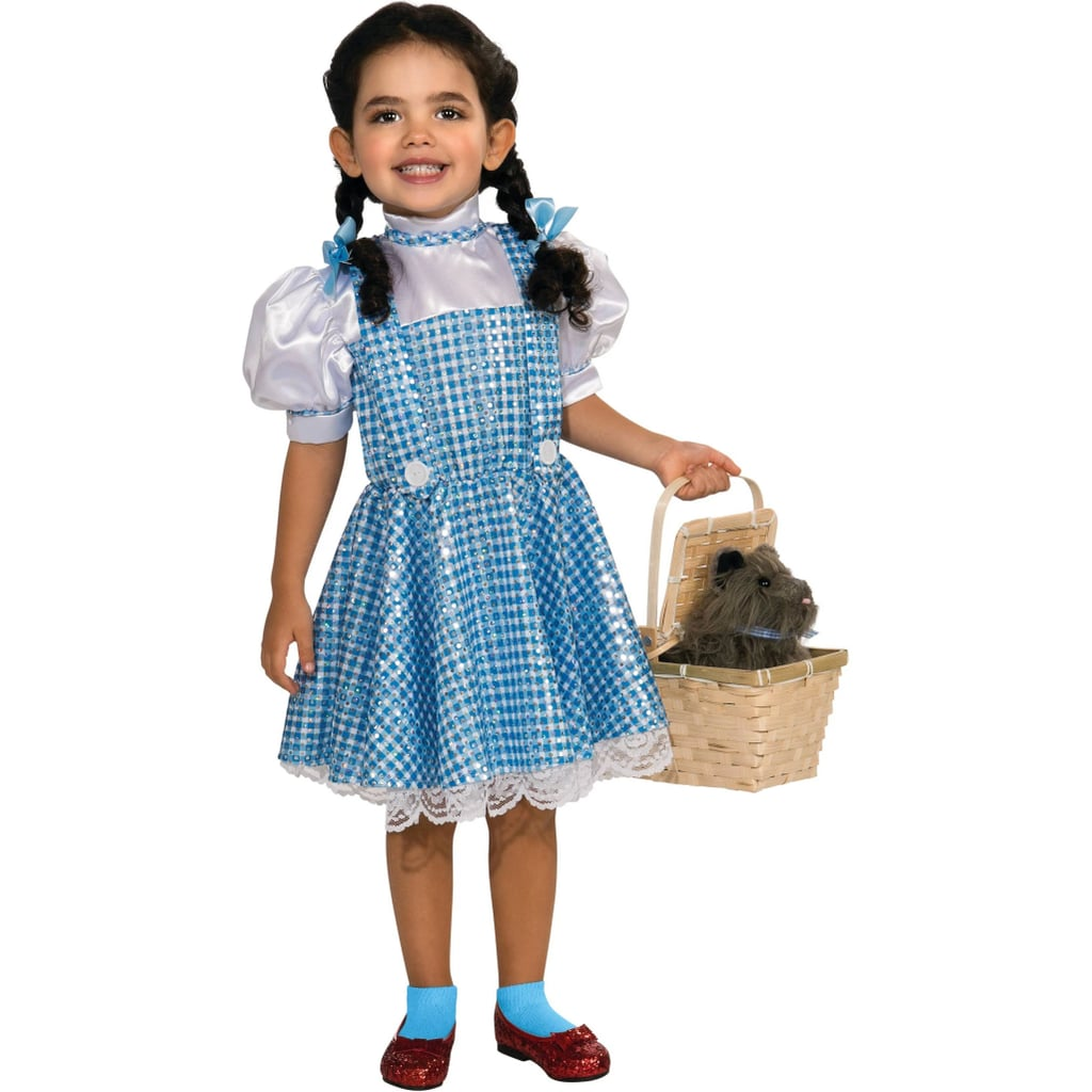 Toddler Girls' Wizard of Oz Dorothy Sequin Deluxe Halloween Costume