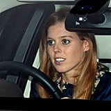 Princess Beatrice attended a Christmas lunch with her family.