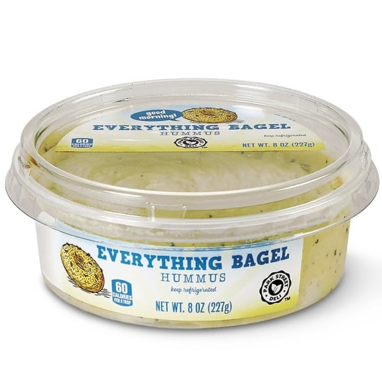 Aldi Has Everything Bagel and Lemon Poppy Seed Hummus