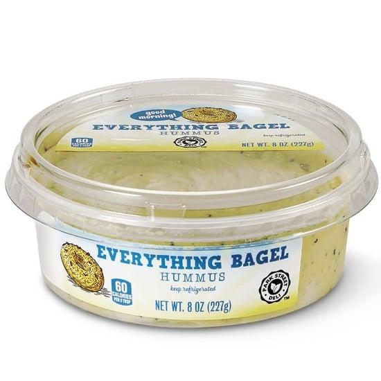 Aldi Has Everything Bagel and Lemon Poppy Seed Hummus