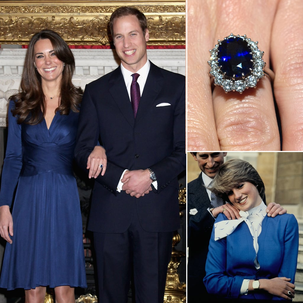 rings by photos middleton former s ring kate debuted princess future diana engagement n