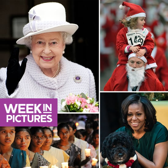 The Queen Is All Smiles, the Spice Girls Reunite, and People Get in the Santa Spirit