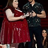 Chrissy Metz Latex Dress at the 2017 MTV Movie and TV Awards