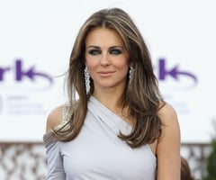Elizabeth Hurley Talks About Relationship With Boyfriend Shane Warne