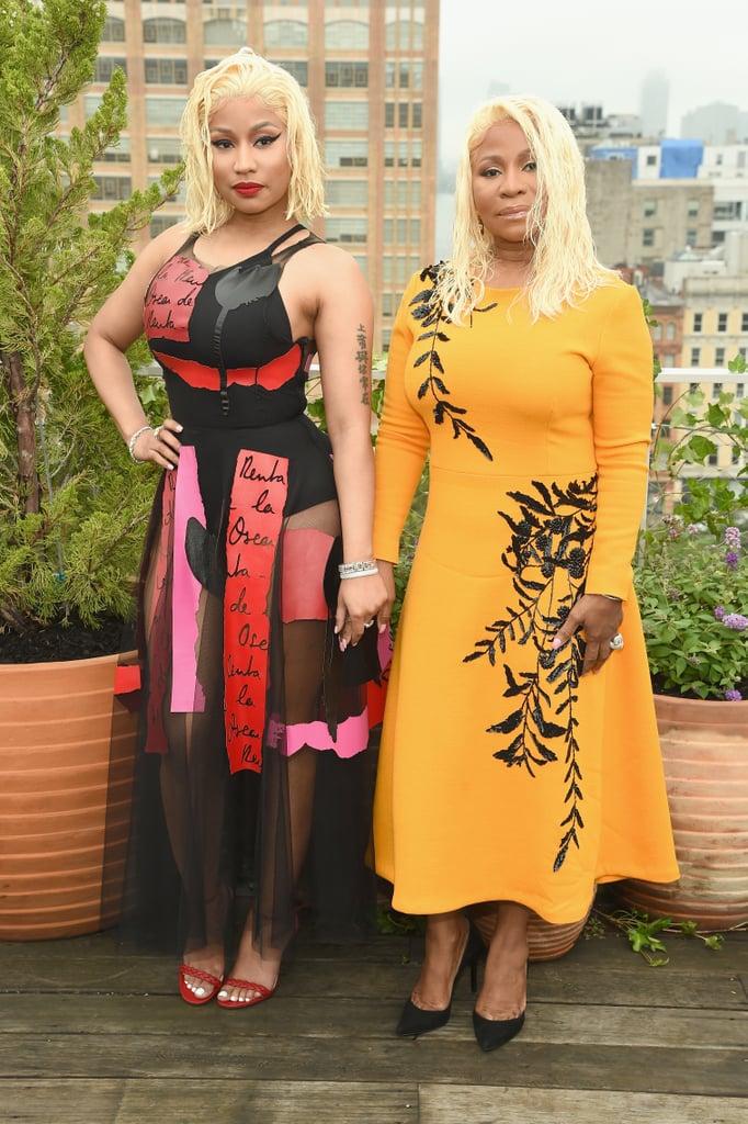 Pictured: Nicki Minaj and Carol Maraj