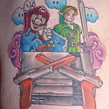 Mario, Link, and a NES