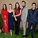 Pictured: Ione Skye, Juliette Lewis, Jennifer Garner, David Tennant, and Arturo Del Puerto