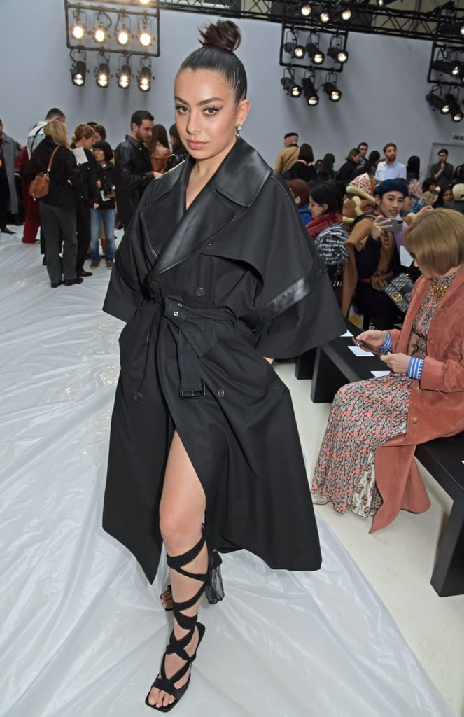 Charli XCX at the JW Anderson Fall 2020 Show