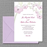 Orchid Wedding Invitation