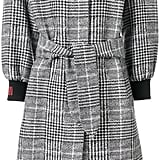 Fendi Plaid Coat