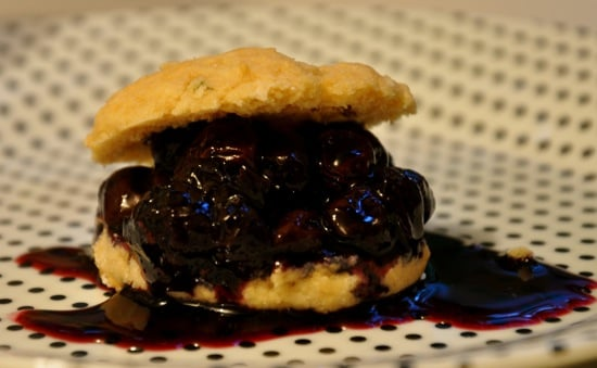 Blueberry Shortcake Biscuits