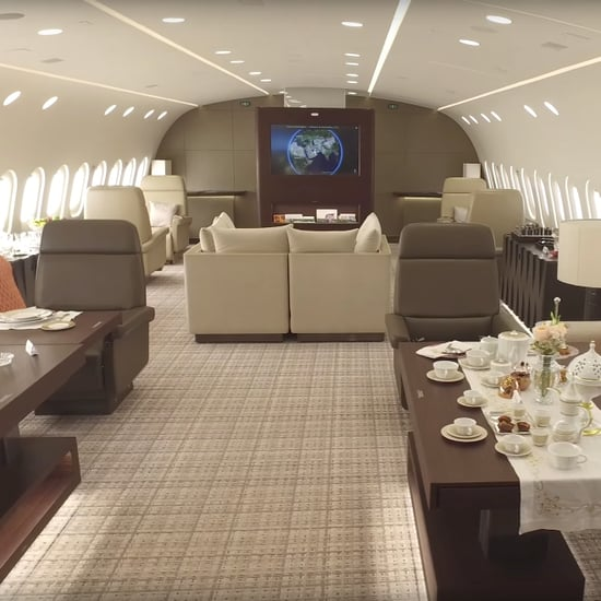 Inside Private Boeing 787 Dreamliner
