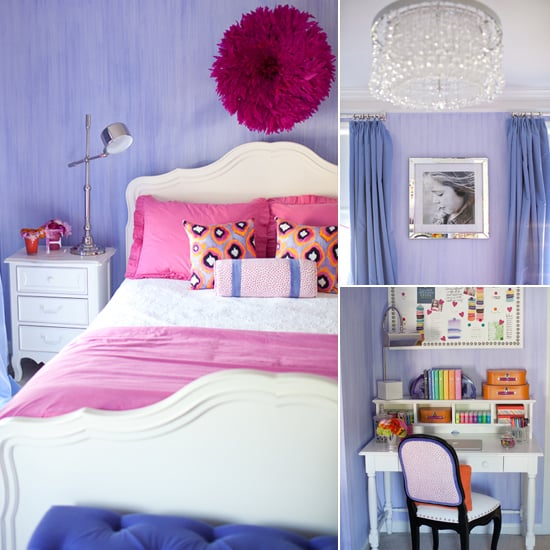 Kids' Rooms: A Pink, Purple, and Posh Big-Girl's Room
