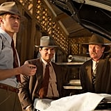 Ryan Gosling, Michael Peña, and Robert Patrick in Gangster Squad.
