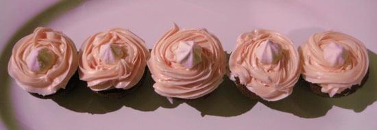 Bite of Love: Macaroon'ed by Love Brownie Cupcakes