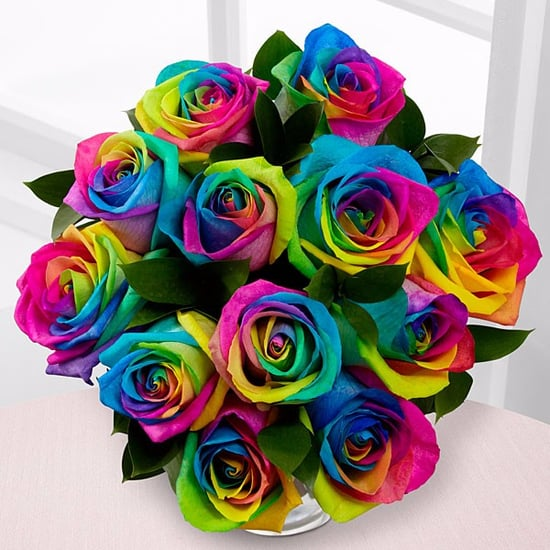Unicorn Rainbow Roses