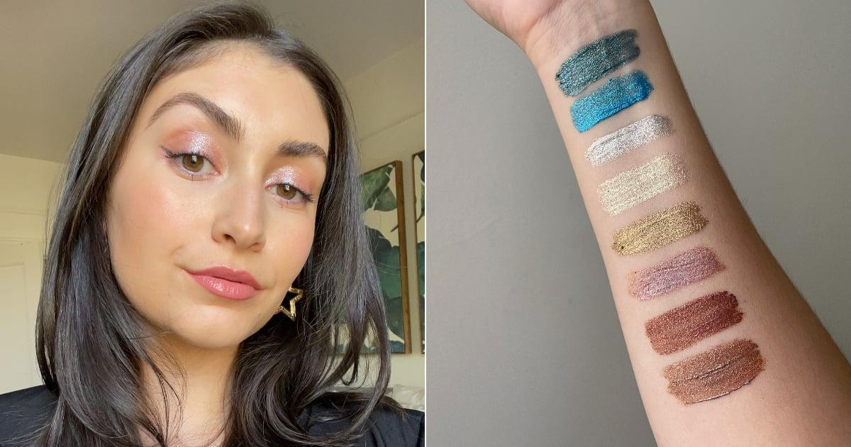 Halsey's Glitter Eye Paints Belong on the Next Season of Euphoria, Because Damn, the Sparkle Is Unreal.jpg