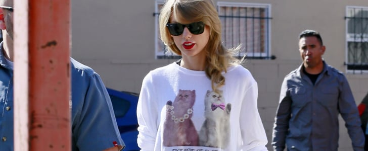 Cat-Printed Clothing