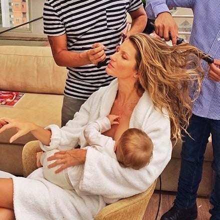 Gisele Bundchen Got Boob Job After Breastfeeding Kids