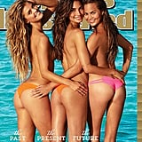 Nina Agdal, Lily Aldridge, and Chrissy Teigen