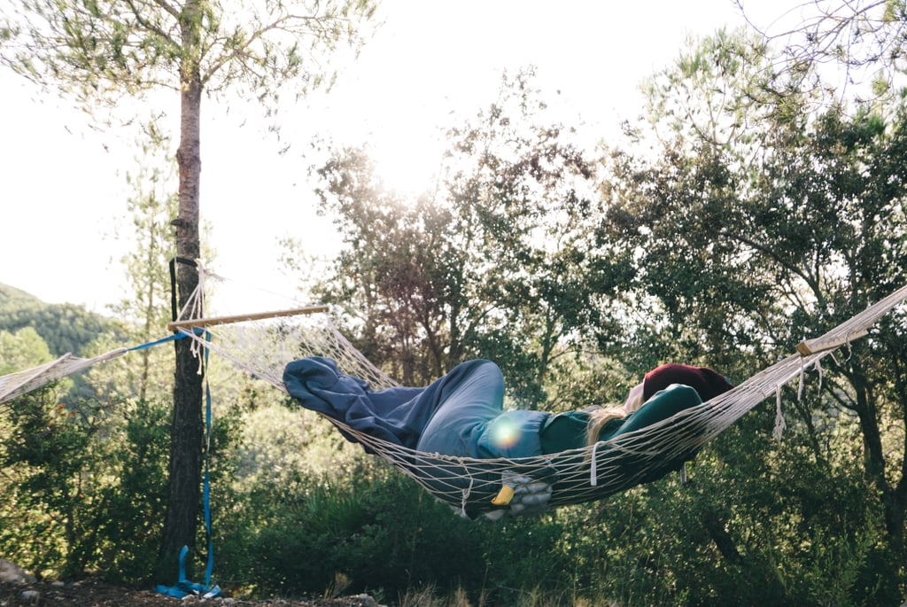 Take a nap in a hammock.