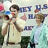 Bill Hader and Kristen Wiig in Adventureland