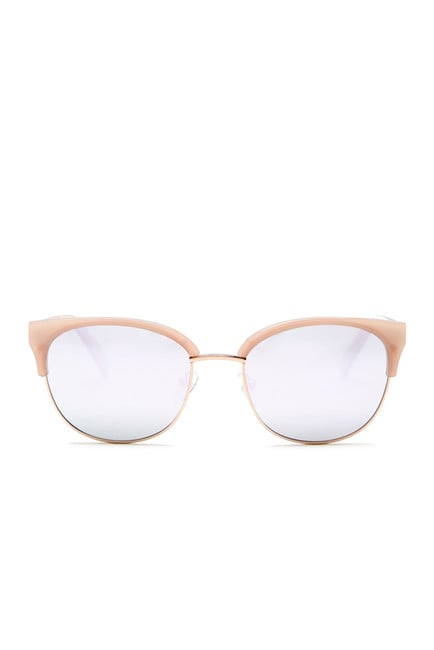 Rose-Gold-Rimmed Sunglasses