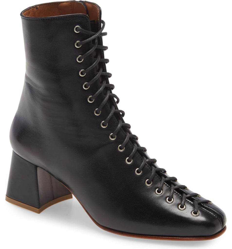 By Far Becca Lace-Up Bootie