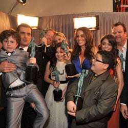 Modern Family Press Room Quotes From 2011 SAG Awards