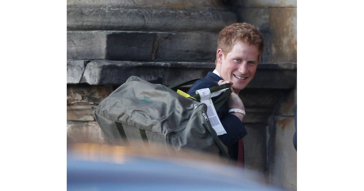 When He Flew by Budget Airline | Photos of Prince Harry Doing Normal Things | POPSUGAR Celebrity ...